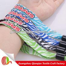 EU strandart promotional free sample event custom wristband,party giveaway wristband