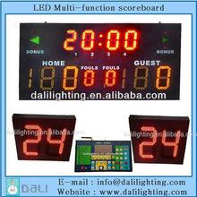 Wireless Plug n play Scoreboard of 24 seconds scoreboard basketball