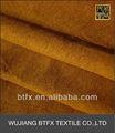 Las ventas caliente 100% teñido de algodón peinado tela de terciopelo para la tapicería sofá de o