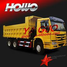 sinotruk howo 6X4 10wheerler 336hp 19.32cubic dump truck for sale