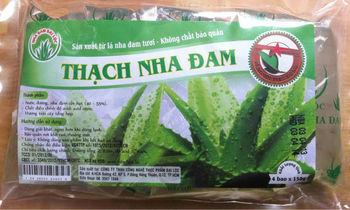 Ban thach nha dam (lo hoi) si va le/ Aloe Vera food