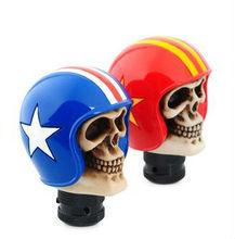 polyresin skull gear shift knob