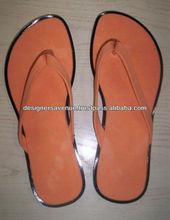 Plain color flip flop