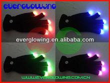 amazing led finger light gloves