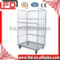 Rouleau de transport pliant. metal cage de stockage