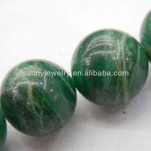 african jade beads, round 4-16mm, 16-inch per strand