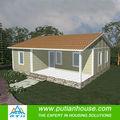 bajo costo de la casa prefabricada