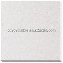 Bianco sparkel controsoffitto quarzo e anti- inquinamento quarzo piastrelle in pietra e lastra di quarzo