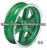 "TMMP SIX-SPOKE 10""(YABEN125) Motorcycle front wheel rim [MT-0449-244A1-F],high quality"