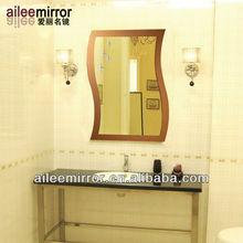 2013 New style irregular wall mirror beveled antique mirror glass