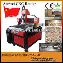 Qingdao sea shipping wood jade stone carving machine 6090 cheapest cnc