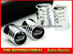 Shinny Glossy Polished Tire Chrome For Jaguar Valve Cap 4pcs/set XF XJ8
