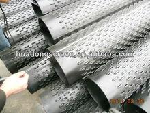 Carbon steel water drilling pipe of bridge type slot/Bridge slot screen(direct manufacture )