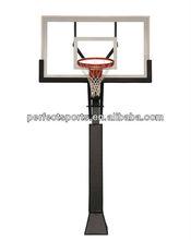 72 Inch High End Basketball Goal In Backyard
