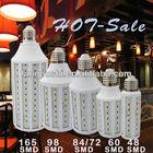 5W 7W 9W 11W 15W 19W 26W smd led corn light bulb 5730 e27 12w