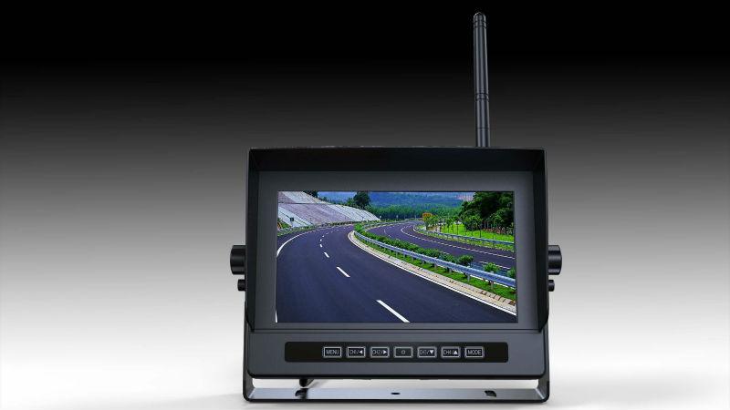 7 inch 2.4G digital wireless waterproof monitor