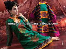 Designer Indian salwar kameez- embroidered dupattas dress materials - salwar suits @ $ 35.00 / Suit