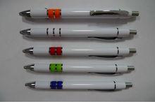 2014 free sample gift ballpoint pen plastic