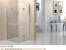 High grade modern design simple shower enclosure