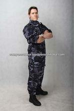 Marine BDU Field Uniform Set DPM Navy Blue Cam combat uniform, Terylene/Cotton Dark navy Army military combat fatigue,CS uniform