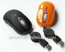 The mini portable optical cute computer mouse perfect for desktop
