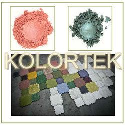 Concrete Pigments. Concrete Oxide Pigments and Colors