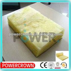 Roof sound proof and fire proof fiber glass wool batts/ fiberglass insulation batts