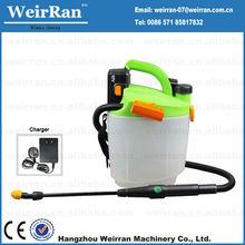 (72474) portable knapsack rechargeable battery powered pressure sprayer garden