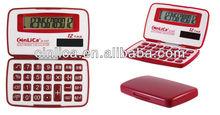 pocket calculators/foldable silicone calculator/tax gift calculator