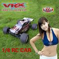 1/8 del coche del rc, modelo de coche, coche nitro del rc, de gas del coche del rc, 4wd del coche del rc, del coche rápido, coche vrx