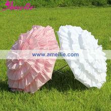 A0252 So pretty flower girls umbrella