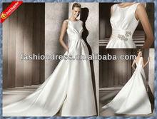T-W127 strapless fashion dresses detachable wedding dresses fashion bridal