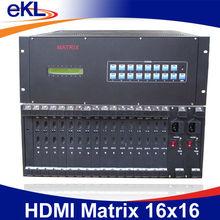 16x16 HDMI matrix switch and splitter,16 input 16 output ,1080P/60Hz