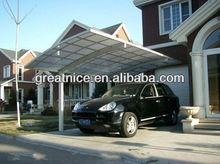 aluminum car shelter design