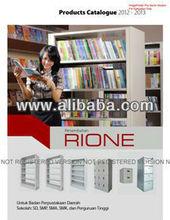 Filing Cabinet, Lemari Besi, Rak Buku, Locker