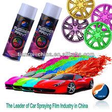 Rainbow Dip Rubber Paint Car Paint Acrylic