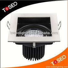7w recessed downlight aluminium TUV cob spotlight