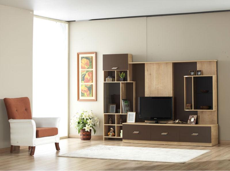 Led Tv Wall : LED TV Wall Unit Design