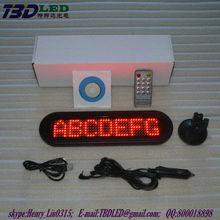 PC or Remote control led display ,Indoor LED moving sign single color,led door sign(Direct Manufacturer)