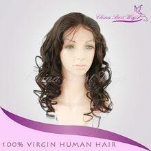 2013 Best selling 5A grade virgin Indian natural hair wigs beyonce