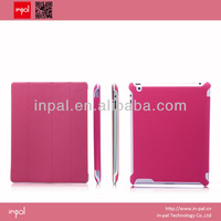 Hot pink for ipad 2 leather smart cover oem