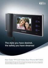 New color TFT-LCD Video Door Phone SHT-3005+ SHT-CN510/EN