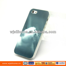 Cat design with IMD craft for iphone 5s tpu case