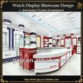 noms montre vitrine pour la montre design intérieur du magasin