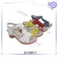 Elegante últimas sandálias das senhoras projetos, meninas de espessura sandálias de salto, chunky calcanhar mulheres bombas de salto alto