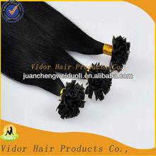 Pro bonded Hair Indian V Tip Hair Extesion Virgin Remy V Tip Hair