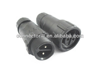 Best Price M14 IP68 Field Assembly Waterproof 2 pin connector