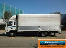 2005Year Apr Hyundai 5Ton 225PS Disel Dry Van Wing Body Truck White Color