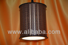 Decorative Wooden Hanging Lantern