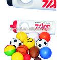 Pu brinquedo bola, squzzedable bola, baratos bolas de estresse